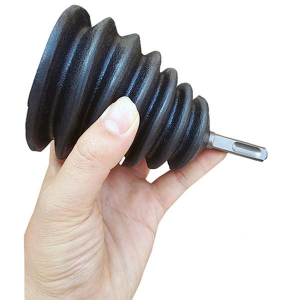 Taladro Colector de polvo Cubierta de polvo de goma Martillo eléctrico Tapa de taladro Accesorios para herramientas eléctricas