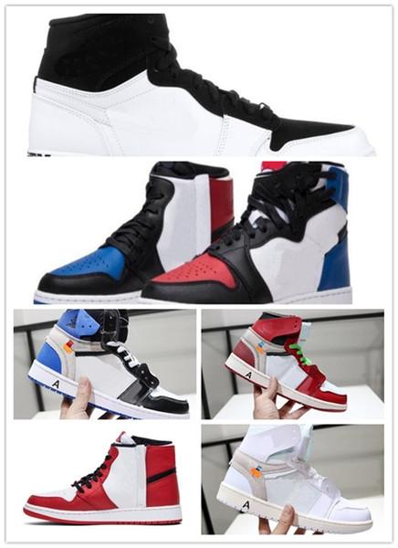 Nike Air Jordan Retro Shoes 2019 Hot Off 1 Basketballschuhe Rebellen XX OG Top Kawhi Leonard Denken Nrg Gleichheit Kräfte zwingen Männer Frauen Sportschuhe