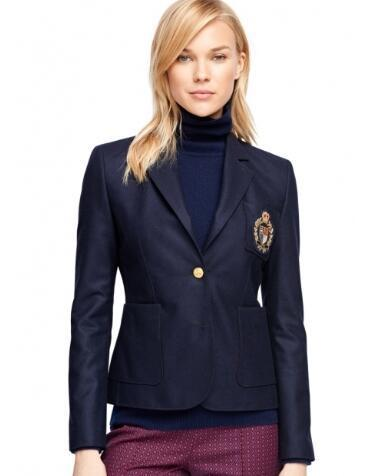 Global Fashion Women Casual Jackets Spring Winter Lady Classic Jacket Blazer Long Sleeve Leisure Coat Size S-XL
