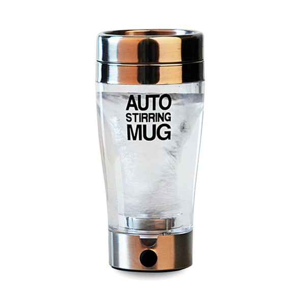 Self Auto Stiring Mug Coffee/Milk Mixing Mug Stainless steel smart Thermal Cup Double Insulated Cup Protein Shaker Blender