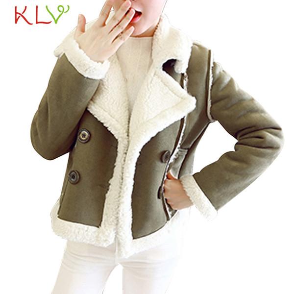 Frauen Jacke Winter 2018 Fleece Samt Taschen Luxus Lange Plus Größe Damen Chamarra Cazadora Mujer Mantel Für Mädchen 18Oct29