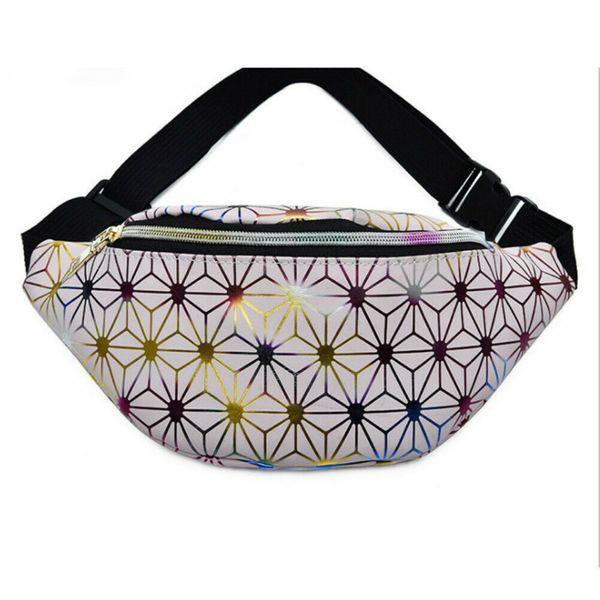 2019 New Design Women Girls Durable PU+Spandex Messenger Crossbody Chest Bag Pack High Quality Single Side Shoulder Bag