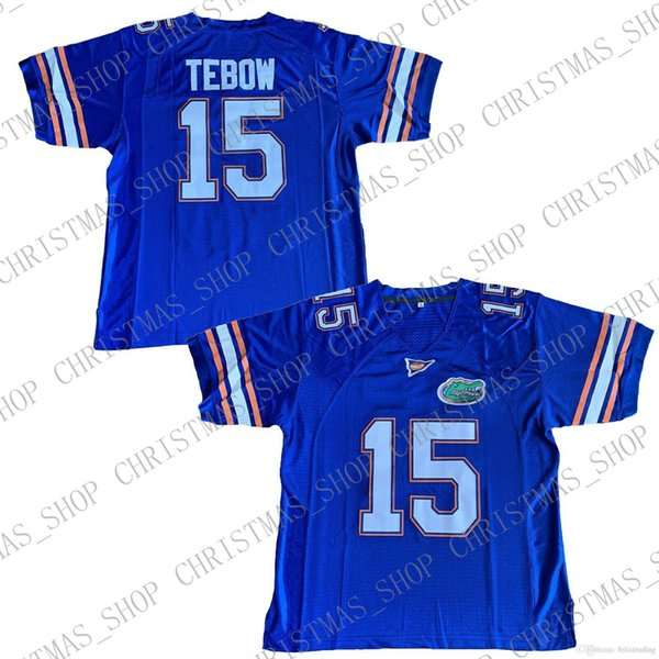 Men's Tim Tebow #15 Florida Gator College Football Jersey All Stitched Tebowing
