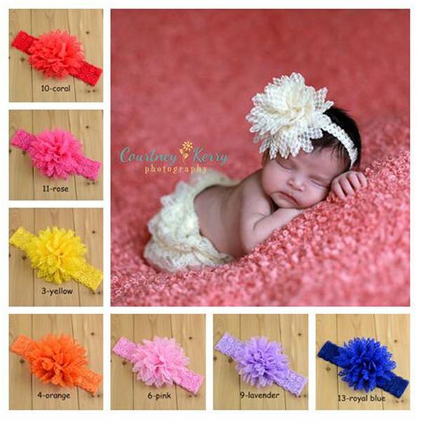 Lace Headbands Children Hair Accessories Kids Flower Headband Hair Things Baby Hair Accessories Childrens Accessories FJ392