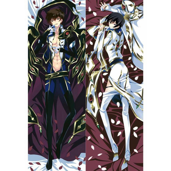 New BL Male Japanese Characters Anime CODE GEASS C.C. Throw Otaku Dakimakura Gifts Bedding Hugging Body Pillow Case 150x50 CM