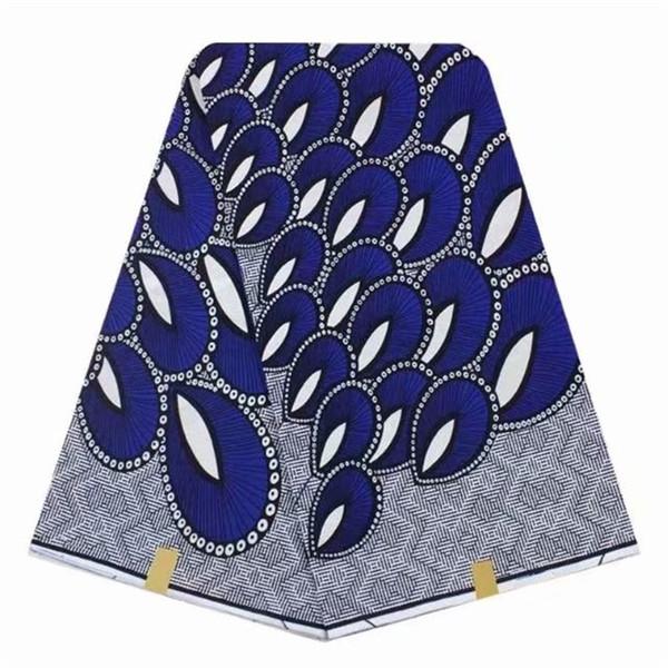 wax print fabric african cloth real wax block fabric for wedding ankara fabrics garment material 6yards per piece