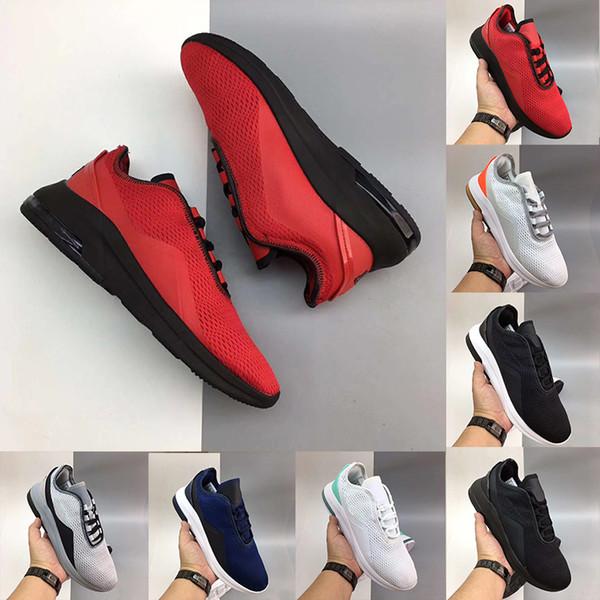 Casal Luz Respirável Movimento 2.0 SE homens mulheres tênis correndo preto vermelho ao ar livre sports sports formadores sapatilhas luz Moda 36-45
