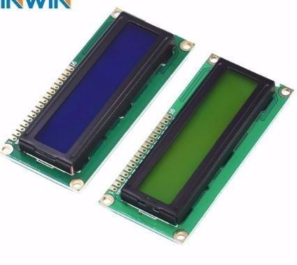 1pcs/lot 1602 16x2 Character LCD Display Module HD44780 Blue/Green screen blacklight LCD1602 LCD monitor 1602 5V