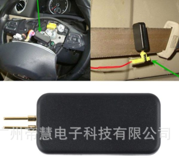 by DHL/Fedex 100pcs Car Airbag Simulator Emulator Bypass Garage Srs Fault Finding Diagnostic Tool