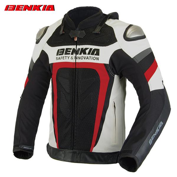 BENKIA GL70 Motorcycle Jacket Riding Men's Windproof Breathable Motorcycle Racing Jacket Blouson Moto Motorbike Clothing