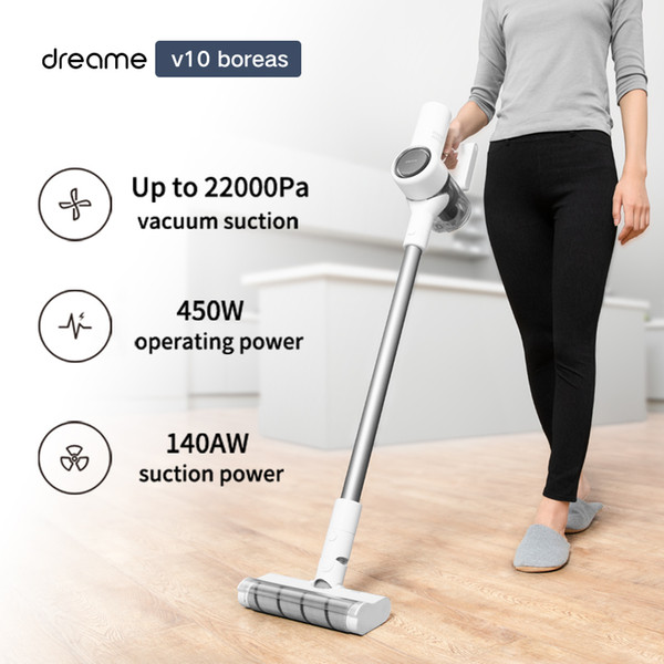 best selling Dreame c boreas Handheld Wireless Vacuum Cleaner 22Kpa Portable Cordless Cyclone Filter Carpet Dust Collector Carpet Sweep for Xiaomi
