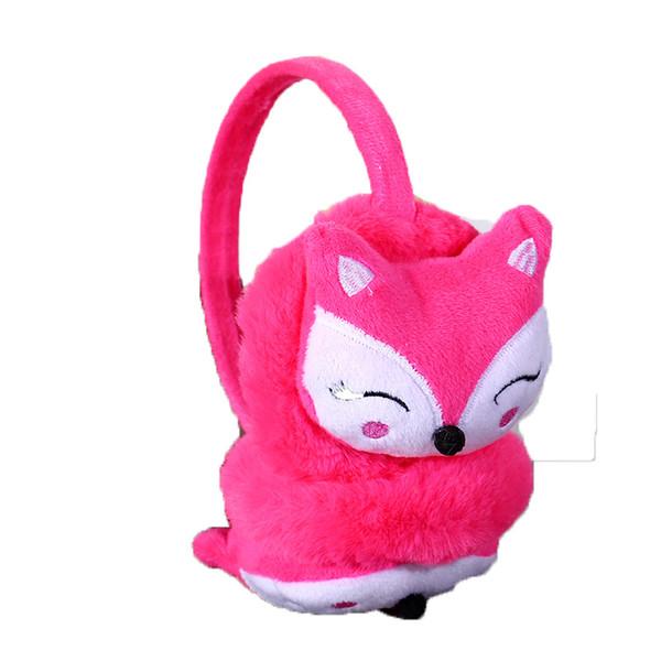 Ear Warmers Children Kids Winter Ear Muffs Kids Korean Warming Cartoon Plush Fluffy Fashion Novelty Ladies Outdoor Fashion
