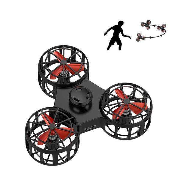 Volant Fidget Spinner Mini rechargeable automatique Rotatif doigt Spinner jouet nouveauté pour l'anxiété autisme stress ReleaseToy MMA2868-A1