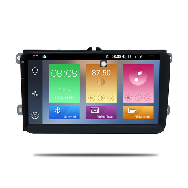 9inch android 8.1 Octa Core 4gb ram 64GB rom car dvd player for Skoda Fabia octavia Superb Seat Rapid for vw golf tiguan polo passat CC