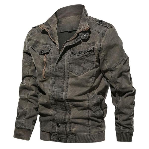 Moda Erkek Tasarımcı Ceketler İnce Askeri kıyafet Sonbahar Kışlık Mont Erkek Giyim Mavi Damla gemi 220247 Tops
