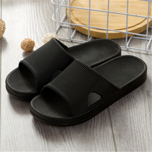 2019 Men's bathroom sandals and slippers New home skid indoor and outdoor sandals #H01