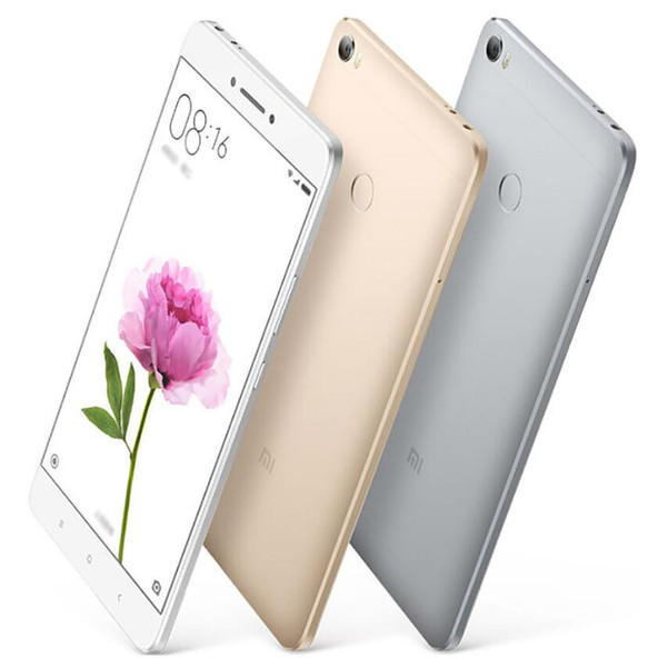 Original Xiaomi Mi Max Prime 6.44 Inch 4850mAh 4G LTE 32GB/64GB/128GB Snapdragon 650 Hexa Core 1920x1080P Vs Lenovo Vibe P2 Lenovo Zuk Z2