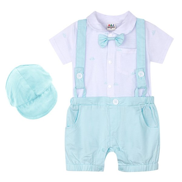 Romper with Hat-3