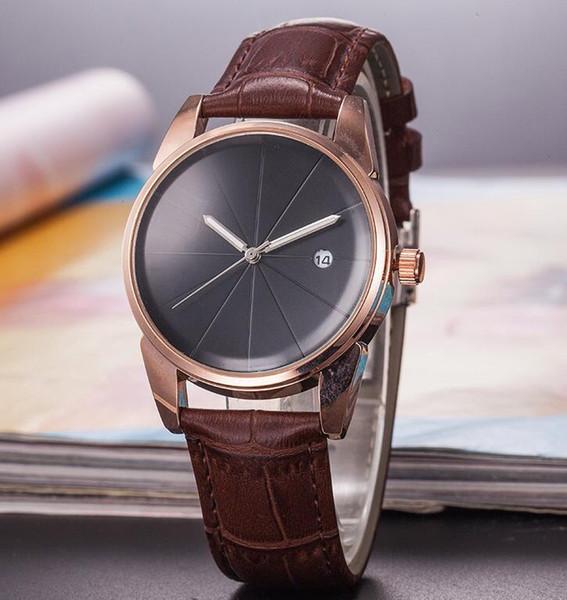 Il marchio svizzero famoso RO orologio moda semplice mens designer orologi classico corona logo personalità quadrante movimento orologio di lusso spedizione gratuita