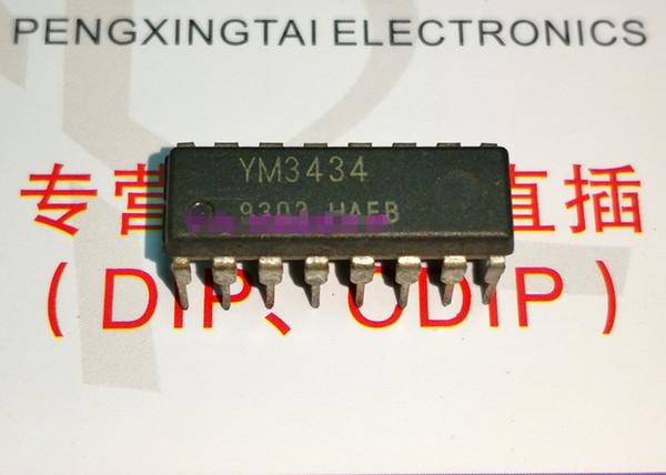 YM3434, çift sıralı 16 pinli daldırma paketi, DIGITAL FILTER, CMOS Entegre Devre / Elektronik Komponent / PDIP16 IC