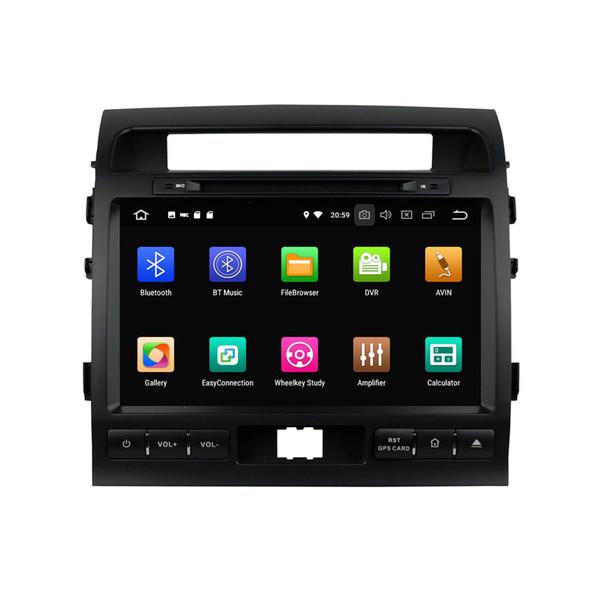 "Android 8.0 Octa Core 9"" Car DVD GPS Player for Toyota Land Cruiser 2008 2009 2010 2011 2012 Radio Bluetooth WIFI USB 4GB RAM 64GB ROM"
