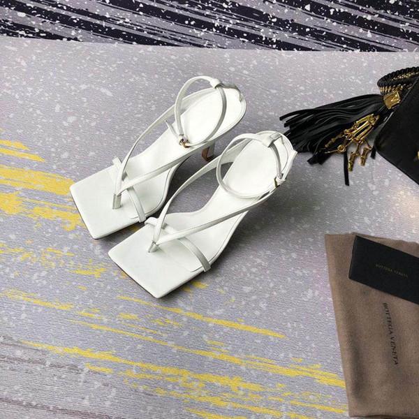 Moda Kadınlar Tasarımcı Flip Flop Sandal nappa rüya streç sandalet bayanlar Lüks Parti Terlik Düğün kadın yüksek topuklu