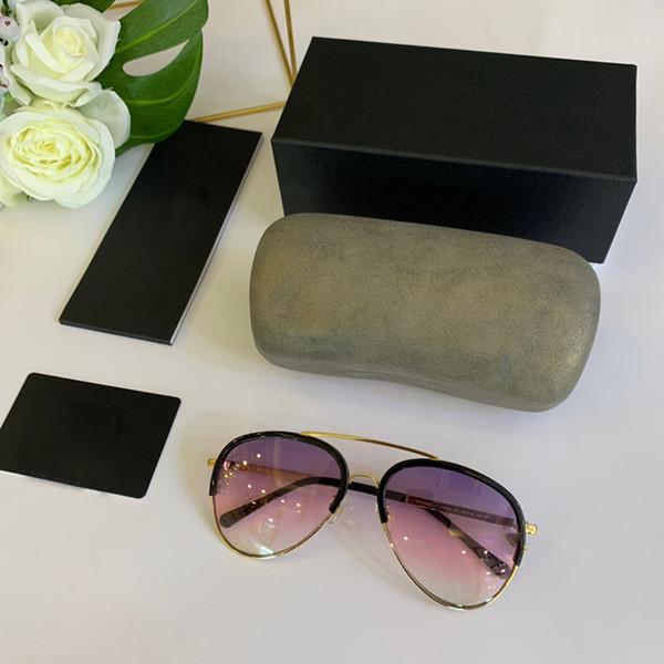 Klassische Designer-Sonnenbrillen Mode Chanel Marke Sonnenbrillen für Frauen Full-Frame-UV-Schutz Sonnenbrillen