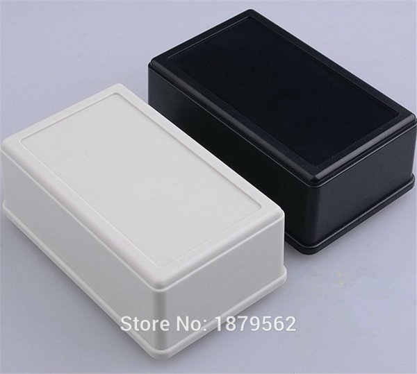 [2 colors]105*65*40mm small electronic enclosures junction box abs plastic box for project PLC housing control outlet case