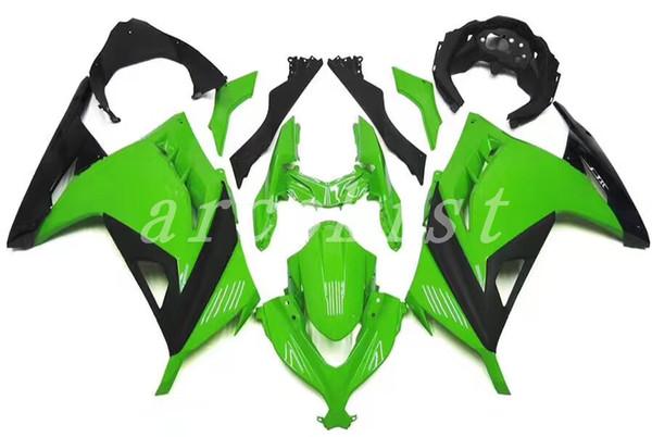 4Gifts New Motorcycle Bodywork Fairing Kit For Kawasaki Ninja 300 EX300 Ninja300 2013 2014 2015 13 14 15 Fairings Injection Mold Green color