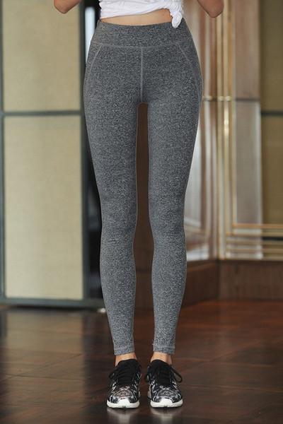 vita alta di yoga pantaloni delle donne Lulu asciugatura rapida e sottile di elasticità non si restringe XL