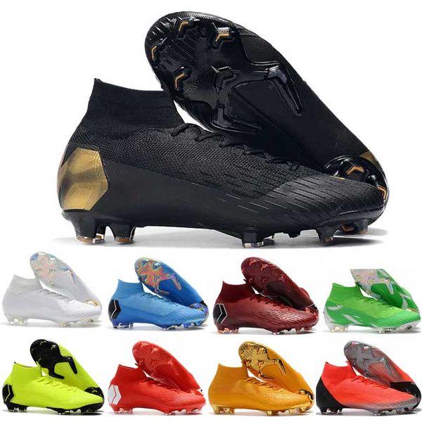 Yeni Erkek Futbol Ayakkabıları CR7 VI Melhor Elite Ronaldo KJ 360 FG Futbol Çizme Cristiano Ronaldo Erkekler Futbol Cleats