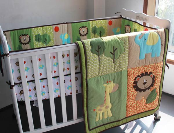Crib bumper set