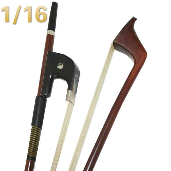 NAOMI High Quality 1/16 Double Bass Bow DOUBLE BASS BOW German Style NEW