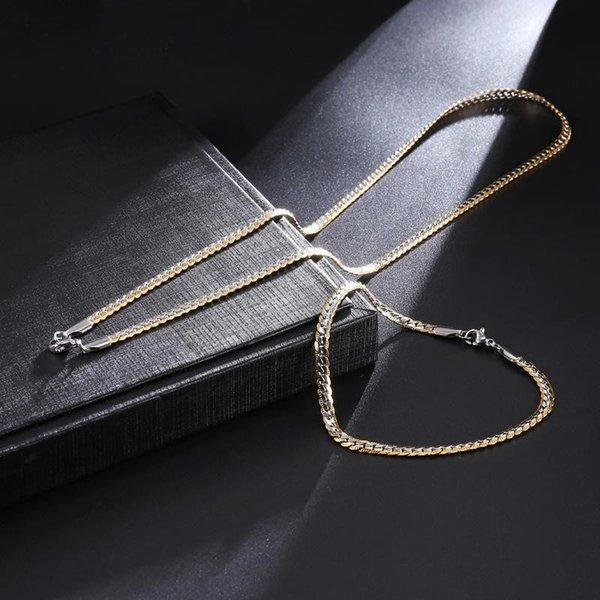 Gold Silver Set-4 milímetros