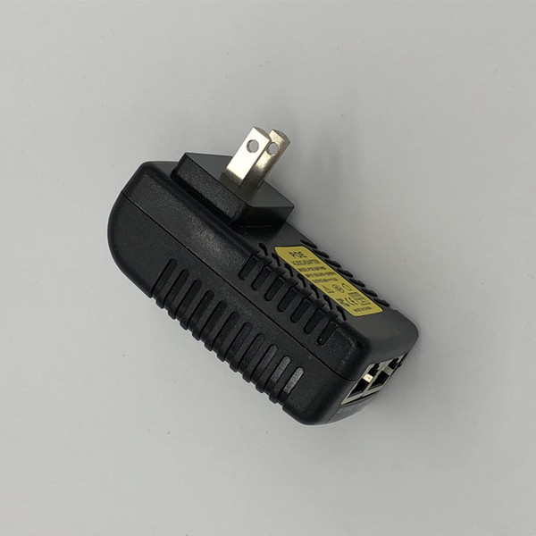 100PCS CCTV Security AC 110-240V to DC 12V 24V 48V 0.5A 1A POE adapter Injector Ethernet IP Camera IP Camera Phone PoE Power Supply