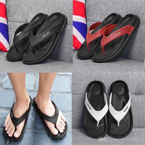 hot sale newest designer sandals brand new summer Men Flip-Flops Beach Slippers Shoes Breathable Beach Slippers EVA Casual Massage Slipper