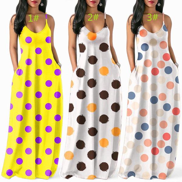 Para mujer vestido de una sola pieza sin mangas falda del verano vestido de diseñador Maxi-vestidos de alta calidad vestido suelto elegante clubwear de lujo klw0569