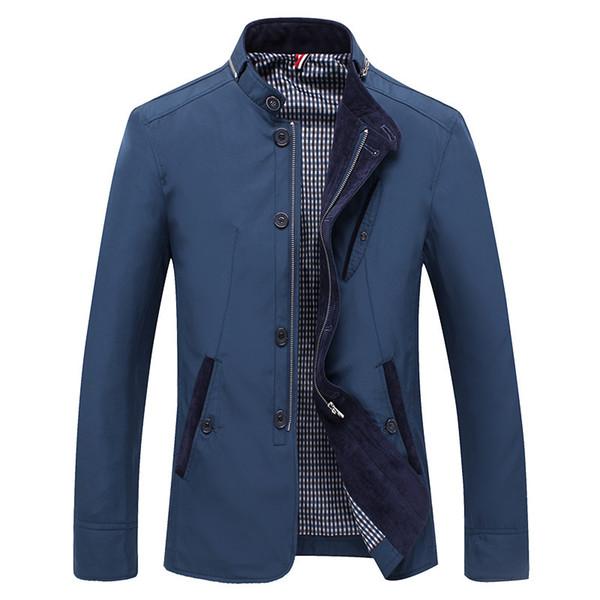 2018 мужская куртка повседневная куртка Костюм стенд тонкий стройный ropa de hombre студент офисный работник молодежные куртки плюс размер костюмы пальто осень
