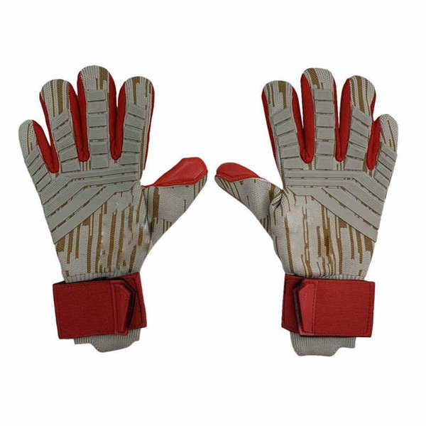 European and American competition training new professional goalkeeper gloves with finger football gloves LaTeX goalkeeper gloves to give gi