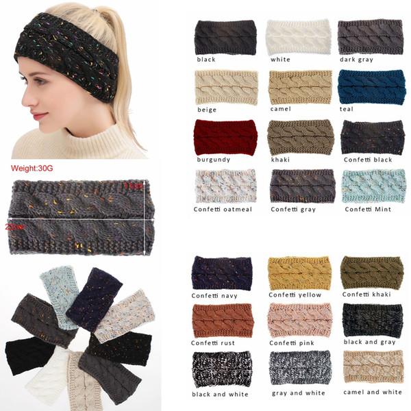 Knitted hairband crochet headband knit hairband warmer winter head wrap tyle headwrap ear warmer headwear cap hair acce orie gga1289