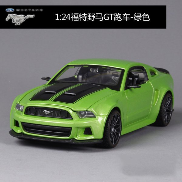 Ford Mustang GT Green