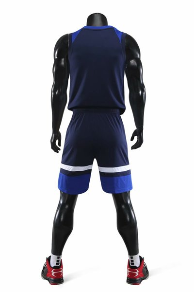 wholesale Customized men Basketball Uniforms,mens kits Sports clothes tracksuits Discount Cheap boy Basketball Sets tops With Shorts A12-08