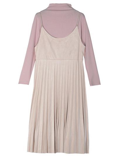 beige dress only