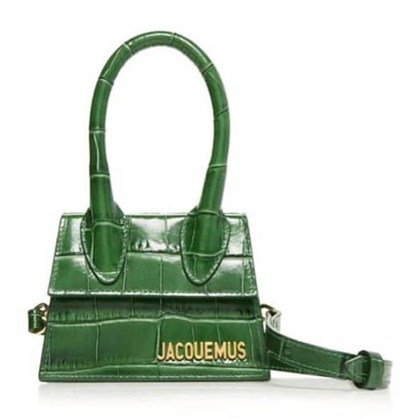 Bolsos de piel de cocodrilo divididos para mujer 2019 bolsos de mano para mujer bolso de verano bolso de lujo bolsos de diseño
