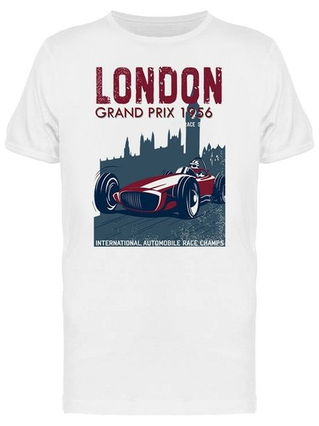 London Grand Prix Men's Tee -Image