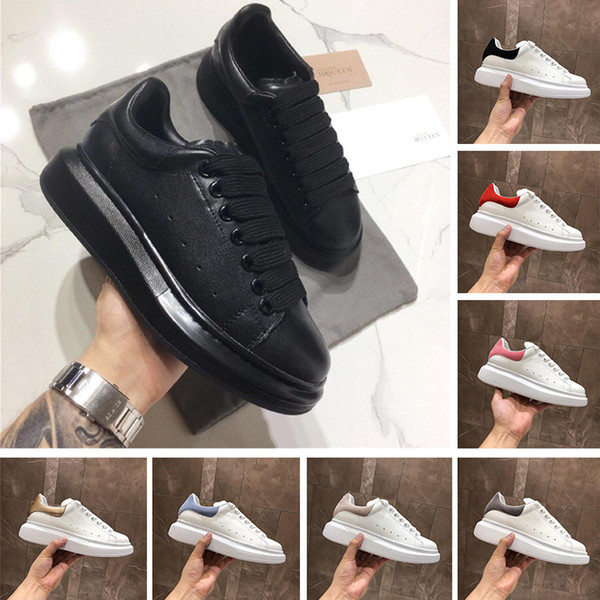 Designer Femmes Chaussures Mode Hommes Plateforme Formateurs Triple Noir Vintage Blanc Chaussures Casual Serpent Retour cuir Chaussures pour Hommes