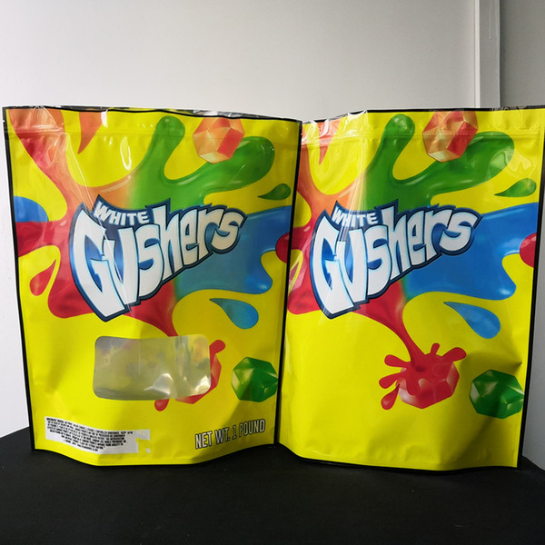 best selling Joke's UP! 1 Pound PINK+Runtz White Gushers V Runtz Mambaz Smell Proof Bags 420 Dry Herb Flowers 1 pound Top mylar bags