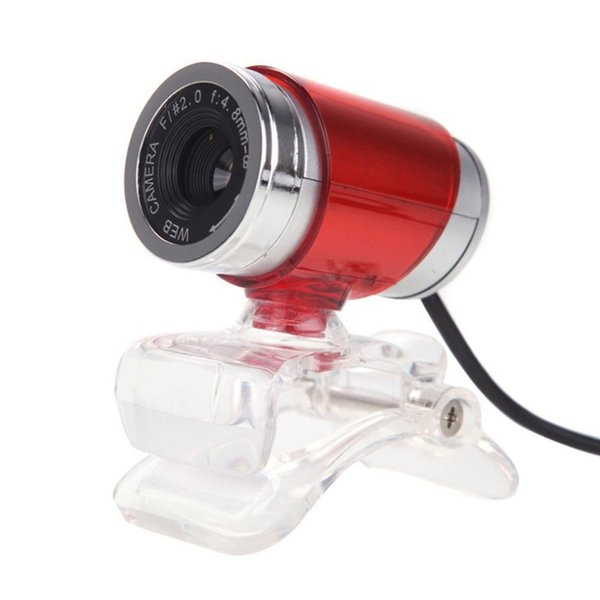 A860 HD PC Webcam 12.0M Pixels CMOS USB Web Camera Digital Video Camera with Microphone 360 Degree Rotation Clip-on