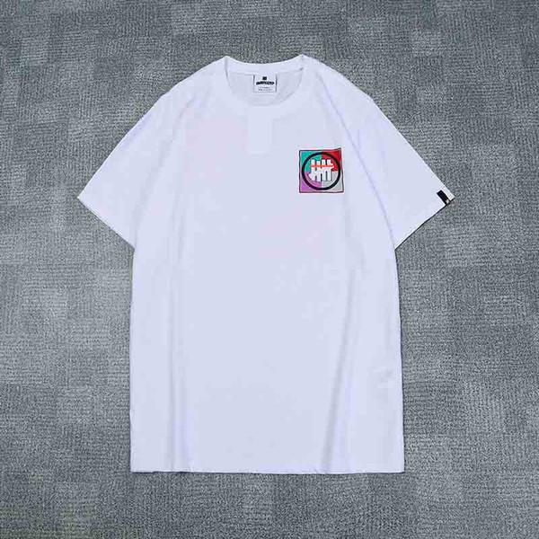 Maglietta classica degli uomini del progettista Cinque vestiti di marca di modo del bastone di spessore Maglietta di lusso di alta qualità delle signore maglietta della maglietta della maglietta di hip-hop di Tees