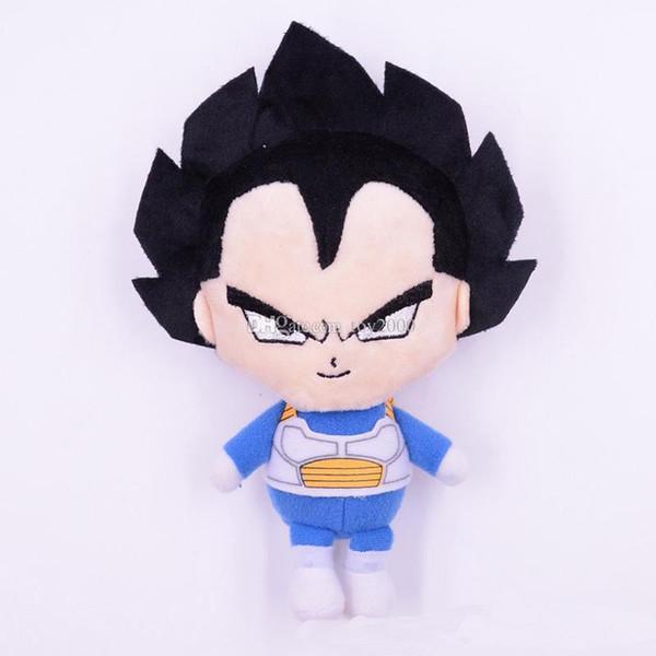5 Styles 18cm Dragon Ball Kakarot Plush Toys Cartoon Kuririn Vegeta Goku Gohan Piccolo Beerus Stuffed Dolls kids toys Gifts plush toy